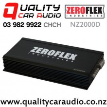 ZeroFlex NZ2000D 2000W RMS Mono Channel Class D Car Amplifier with Easy Finance