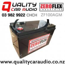 ZeroFlex ZF100AGM 100ah 2000cca High Performance AGM Car Audio Battery with Easy Finance