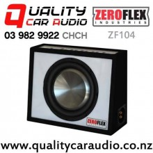 "ZeroFlex ZF104 10"" 900W (250W RMS) Clarion Enclosure Subwoofer for Ute with Easy Finance"