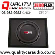 "ZeroFlex ZF104 10"" 900W (300W RMS) Enclosure Subwoofer for Ute with Easy Finance"