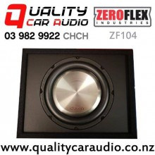 """ZeroFlex ZF104 10"""" 900W (300W RMS) Enclosure Subwoofer for Ute with Easy Finance"""
