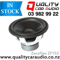ZeroFlex ZF152 15'' 3000W (1500W RMS) ZF Series DVC 2 Ohm Car Subwoofer with Easy LayBy