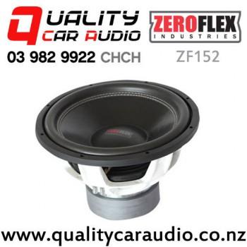 ZeroFlex ZF152 15'' 4000W (2000W RMS) ZF Series DVC 2 Ohm Car Subwoofer with Easy Finance