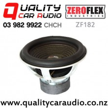 """ZeroFlex ZF182 18"""" 3000W RMS Dual 2 ohm Voice Coil Car Subwoofer with Easy Finance"""