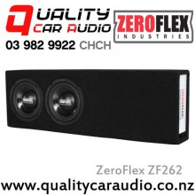 "ZeroFlex ZF262 Dual 6"" 200W Car Subwoofer Enclosure with Easy LayBy"