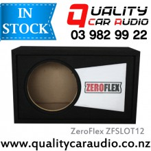 "ZeroFlex ZFSLOT12 12"" Slotport Subwoofer Enclosure with Easy Layby"