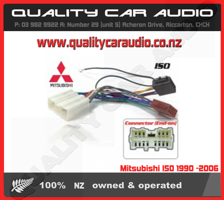 mitsubishi iso 1990 2006 3351 car stereo head unit accessories wire harness compare price wiring harness news at gsmx.co